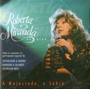 CD - Roberta Miranda - A Majestade, O Sabiá (Ao Vivo)