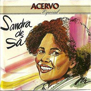 CD - Sandra de Sá - Sandra de Sá