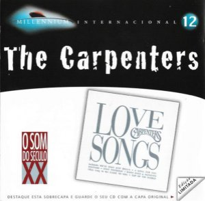 CD - The Carpenters - Love Songs