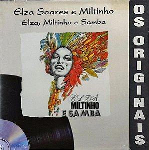 CD - Elza Soares E Miltinho – Elza, Miltinho E Samba