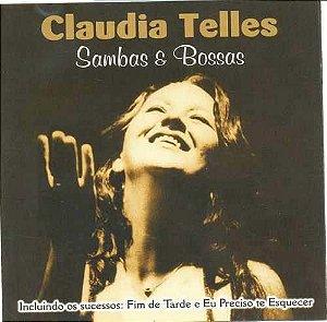 CD - Claudia Telles - Sambas e Bossas