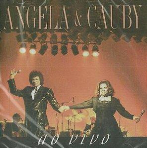 CD - Angela e Cauby - Ao Vivo
