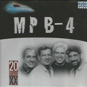 CD - MPB-4 (Coleção Millennium - 20 Músicas Do Século XX)