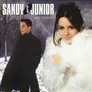 CD - Sandy e Junior - Quatro Estações - O Show Ao Vivo