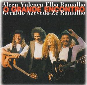CD - Alceu Valença - Elba Ramalho - Geraldo Azevedo - Zé Ramalho – O Grande Encontro (Vários Artistas)