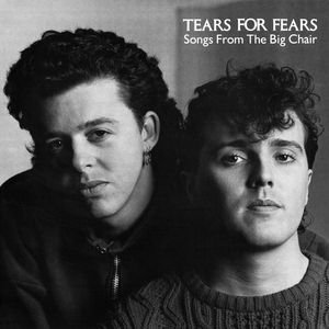 CD - Tears for Fears - Songs From The Big Chair (Importado Germany)