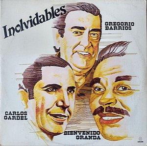 LP - Inolvidables - Gregorio Barrios, Bienvenido Granda, Carlos Gardel (Vários Artistas)