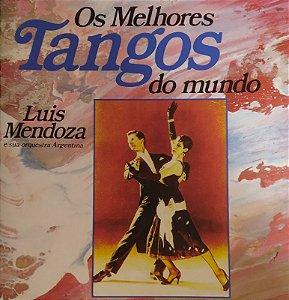 CD - Luis Mendoza e sua Orquestra - Os melhores tangos do mundo