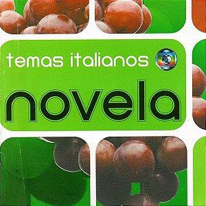 CD - Novela - Temas Italianos (Vários Artistas)