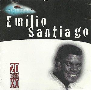 CD - Emílio Santiago (Coleção Millennium - 20 Músicas Do Século XX)