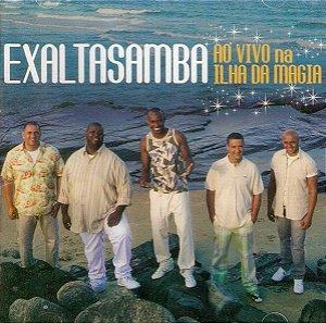 CD - Exaltasamba – Ao Vivo Na Ilha Da Magia (Novo Lacrado)