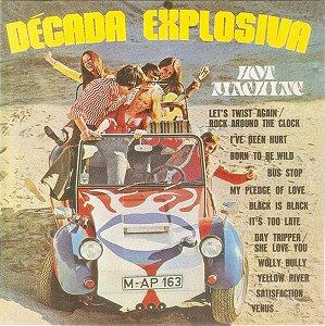 CD - Década Explosiva - Hot Machine