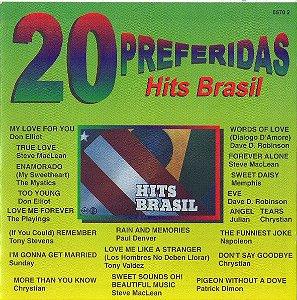 CD - Hits Brasil (Coleção 20 Preferidas) (Vários Artistas)