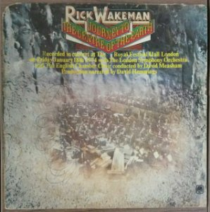 LP - Rick Wakeman – Journey To The Centre Of The Earth