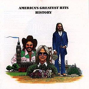 CD - America – America's Greatest Hits - History (sem contracapa)