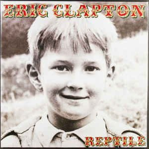 CD - Eric Clapton – Reptile (sem contracapa)