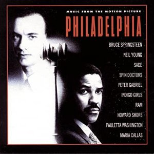 CD - Philadelphia (Music From The Motion Picture) - (sem contracapa)