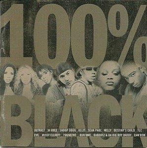 CD - 100% Black (Vários Artistas)