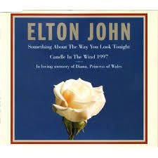CD - Elton John – Something About The Way You Look Tonight / Candle In The Wind 1997 ( single )