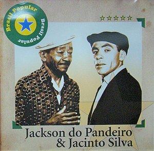 CD - Jackson Do Pandeiro & Jacinto Silva – Brasil Popular