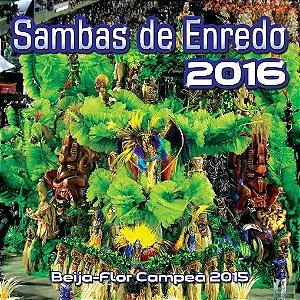 CD - Sambas De Enredo 2016 (Vários Artistas)