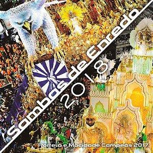 CD - Sambas De Enredo 2018 (Vários Artistas)