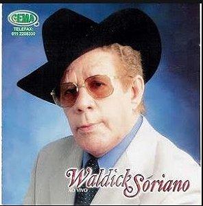 CD - Waldick Soriano ao vivo