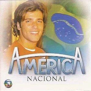 CD - América Nacional (Novela Globo) (Vários Artistas)