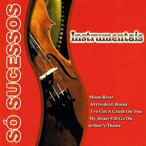 CD - Só Sucessos - Instrumentais (Vários Artistas)