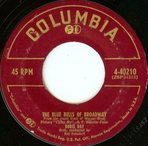 Compacto - Doris Day - The Blue Bells Of Broadway / I Speak To The Stars