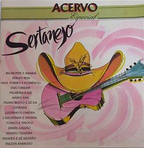 CD - Serjanejo - Acervo Especial ( Vários Artistas)