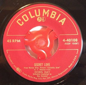Compacto - Doris Day -   Secret Love The Deadwood Stage (Whip - Crack - Away!)