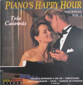 CD - Trio Caiowás - Piano's Happy Hour