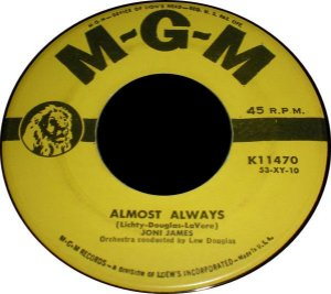 Compacto - Joni James - Almost Always / Is It Any Wonder