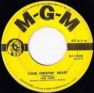 Compacto - Joni James - Youur Cheatin Heart / I'II B'E Waiting For You