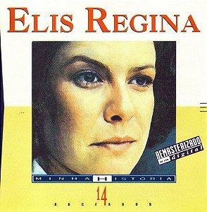 CD - Elis Regina (Coleção Minha História) -  Sem contracapa
