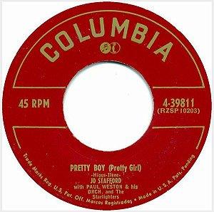 Compacto - Jo Stafford - Pretty Boy / You Belong To Me