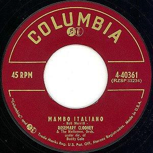 Compacto - Rosemary Clooney Mambo Italiano / We'll Be Together Again