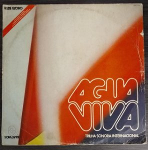 LP - Água Viva Internacional (Novela Globo) (Vários Artistas)