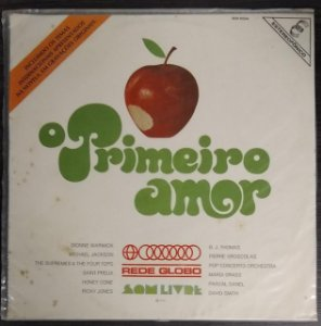 LP - O Primeiro Amor Internacional (Novela Globo) (Vários Artistas)