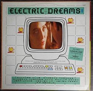 """LP - Electric Dreams (TSO Do Filme """"Amores Eletrônicos"""") (Vários Artistas)"""