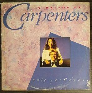 LP - Carpenters – Only Yesterday: O Melhor De Carpenters