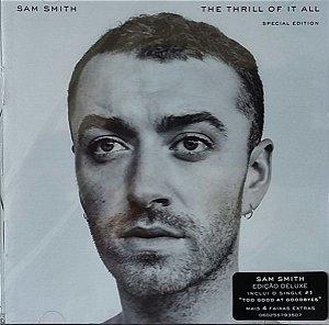 CD - Sam Smith - The Thrill Of It All (Novo Lacrado)