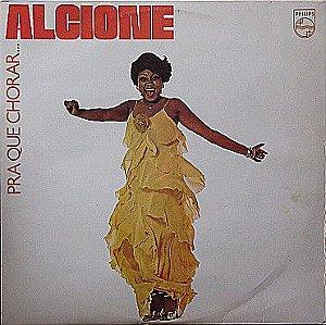 LP - Alcione – Pra Que Chorar