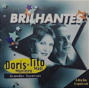 CD - Doris Monteiro & Tito Madi - Grandes Sucessos (Coleção Brilhantes)