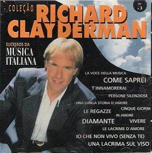 CD - Richard Clayderman - Sucessos Da Música Italiana