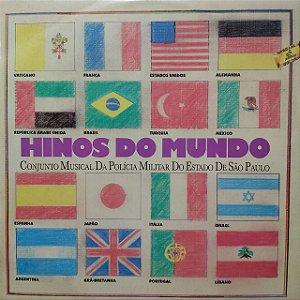 LP - Conjunto Musical Da Polícia Militar Do Estado De São Paulo – Hinos Do Mundo