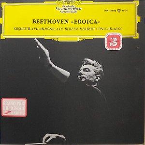 LP - Herbert von Karajan - Beethoven - Orquestra Filarmônica de Berlim – Eroica