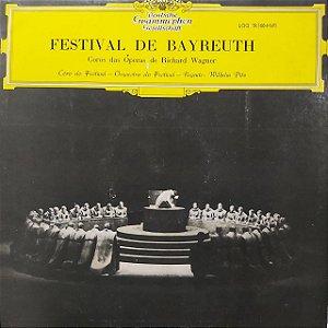 LP - Coros das Óperas de Richard Wagner – Festival De Bayreuth