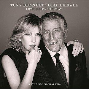 LP - TONY BENNETT & DIANA KRALL - LOVE IS HERE TO STAY (IMPORTADO - 33 RPM) (Novo Lacrado)